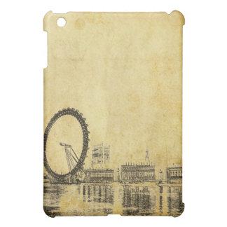PixDezines London Eye on Faux Parchment iPad Mini Case