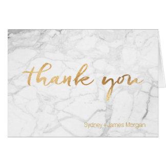 PixDezines Marble+Fancy Scripts thank you Card