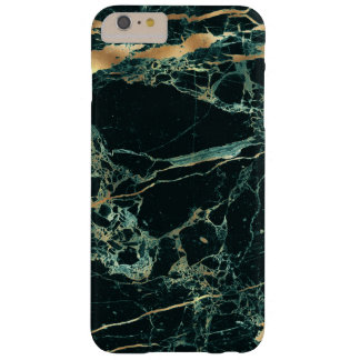PixDezines Marble, Teal Green + Gold Veins Barely There iPhone 6 Plus Case