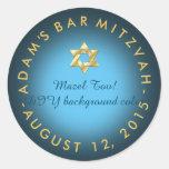 PixDezines mitzvah/DIY colour Round Sticker