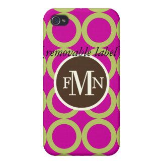 PixDezines Mod Bubbles ♥♥♥♥ Case For iPhone 4