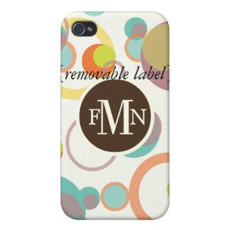 PixDezines Mod Bubbles ♥♥♥♥ iPhone 4/4S Cases