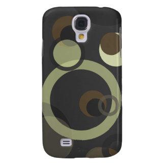 PixDezines Mod Bubbles, Monogram available Galaxy S4 Cover