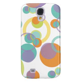 PixDezines Mod Bubbles, Monogram available Samsung Galaxy S4 Covers