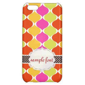 PixDezines mod ogee pattern iPhone 5C Cases