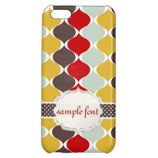 PixDezines mod ogee pattern iPhone 5C Covers