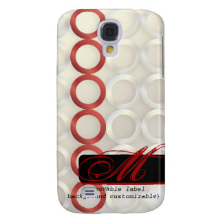 PixDezines Mod Rings, Monogram available Galaxy S4 Cover