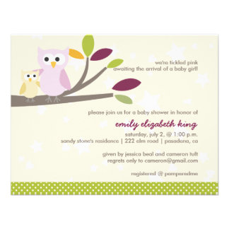 PixDezines Mommy+baby for a baby shower Custom Announcements