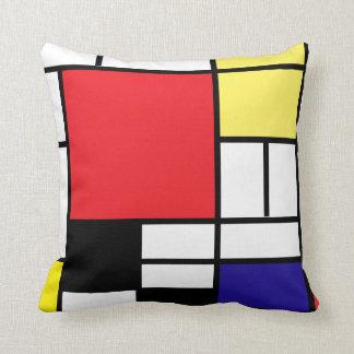 PixDezines Mondrian Arts 2/diy background Cushion
