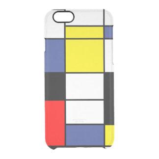 PixDezines Mondrian Clear iPhone 6/6S Case