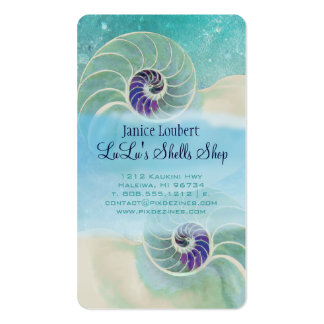 PixDezines nautilus Pack Of Standard Business Cards