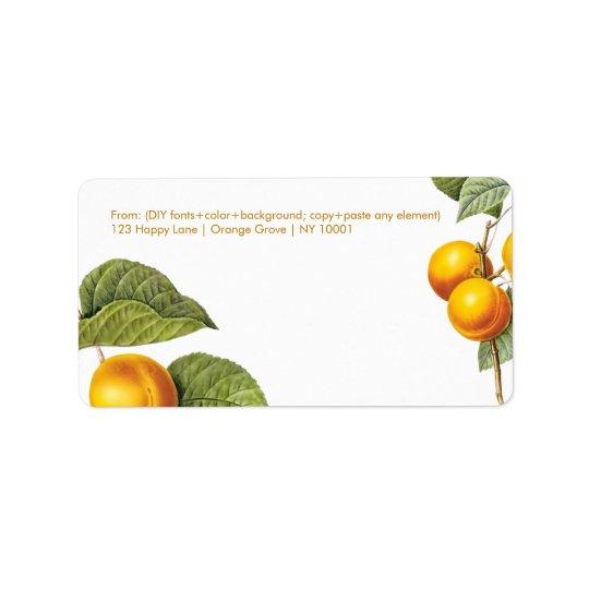 PixDezines Orchard/Peaches/Redoute Label