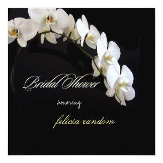PixDezines orchids/phalaenopsis 13 Cm X 13 Cm Square Invitation Card
