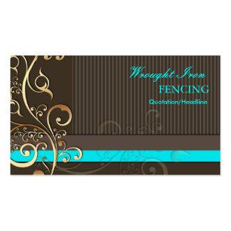 PixDezines Ornamental Swirls+pinstripes/diy colors Pack Of Standard Business Cards