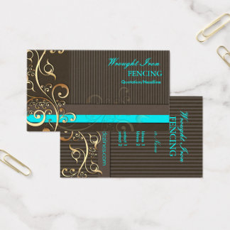 PixDezines Ornamental Swirls+pinstripes/diy colors Business Card