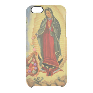 PixDezines Our Lady of Guadalupe Clear iPhone 6/6S Case