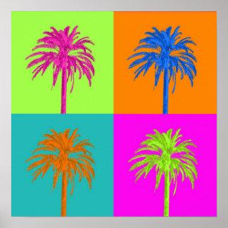 PixDezines Palm Trees Poster