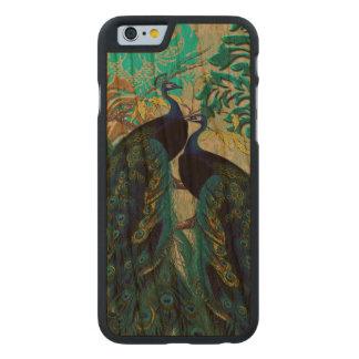 PixDezines Peacocks/Damask Carved® Cherry iPhone 6 Case