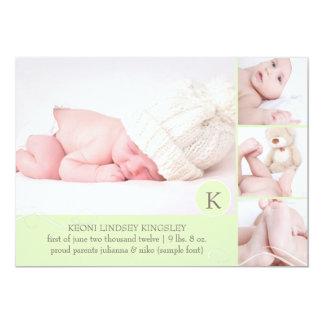 PixDezines photo template birth announcement
