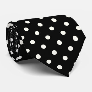 PixDezines polka dots, DIY background color Tie