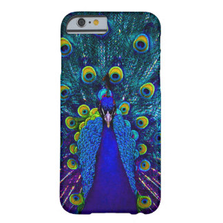 PixDezines Psychedelic Peacock Barely There iPhone 6 Case