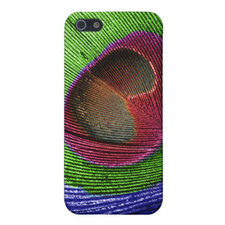 PixDezines Psychedelic Peacock/cobalt/emerald/ruby Case For The iPhone 5
