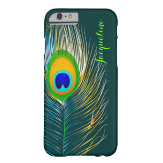 PixDezines Psychedelic Peacock/DIY background Barely There iPhone 6 Case