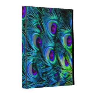 PixDezines psychedelic peacock feather iPad Folio Covers