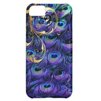 PixDezines Psychedelic Peacock+filigree swirls iPhone 5C Case