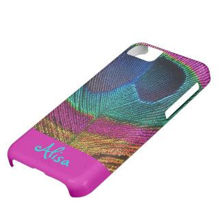 PixDezines Psychedelic Peacock iPhone 5C Case