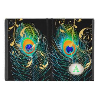 PixDezines psychedelic peacock/removable label iPad Mini Case