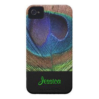 PixDezines Psychedellic Peacock/DIY Case-Mate iPhone 4 Case