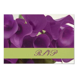 PixDezines purple calla lilies/diy Personalized Invitations