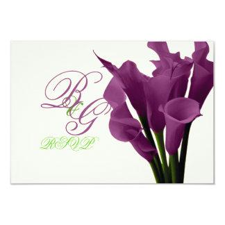 PixDezines purple calla lilies/diy Custom Invites