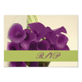 PixDezines purple calla lilies/diy Invitation