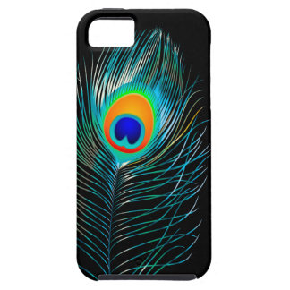 PixDezines pzazz peacock plume+filigree swirls iPhone 5 Cover