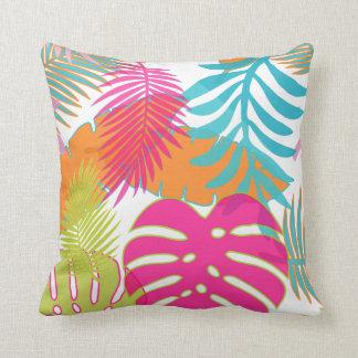 PixDezines rainforest/monstera/diy background Cushion