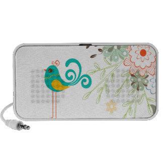 PixDezines Retro Chick Portable Speakers