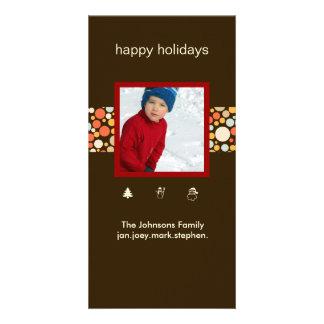 PixDezines retro ornaments, photo cards