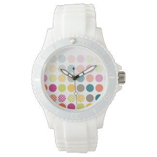 PixDezines retro polkadots Wristwatch