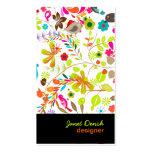 PixDezines Retro Tree/DIY background colour Business Card Templates
