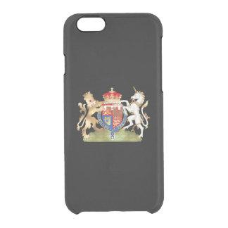 PixDezines Richard the Lion Heart/Windsor Crest Clear iPhone 6/6S Case