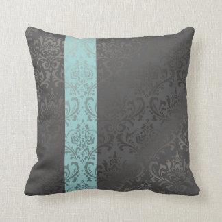 PixDezines rossi damask/diy background colors Throw Pillow