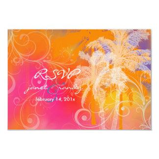 PixDezines rsvp tropical hula+swilrs/DIY color Card