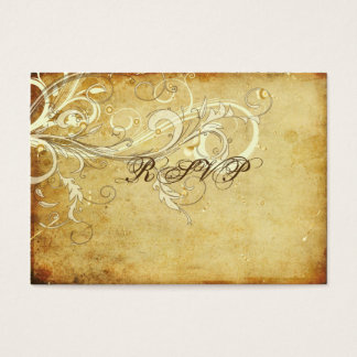 PixDezines RSVP Vintage Cream Swirls/DIY Cards