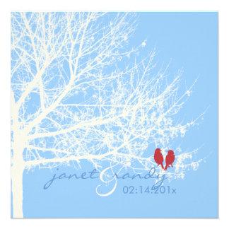 PixDezines Snow Birds | Fall + Winter Invitations