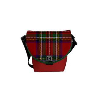 PixDezines stewart tartan Messenger Bag