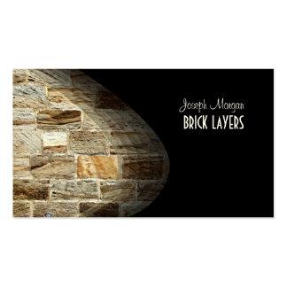 PixDezines Stonemasons, stone workers Pack Of Standard Business Cards