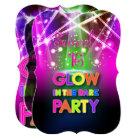 PixDezines Sweet 16, Laser Lights/Glow Party Card