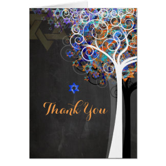PixDezines tree of life/thank you/Chalkboard Card